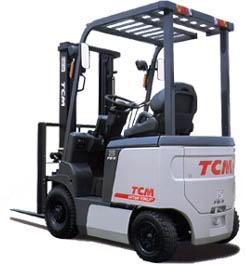 Электропогрузчики TCM с грузоподъемностью 1 - 3 тонны